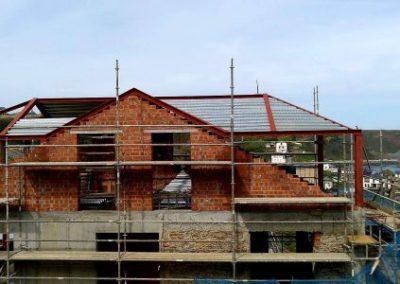 Estructura metálica para vivienda unifamiliar